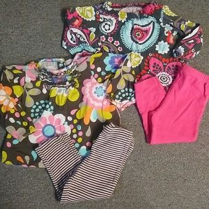 Like new baby girls sz 18 mos Carters outfits